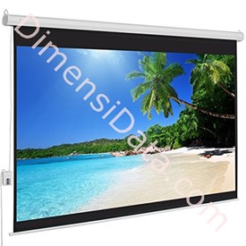 Jual Screen Projector BRITE Motorized 96  Inch [MR-2424]